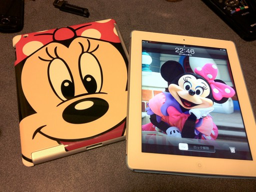 ディズニーストアの半額iPad2ケース