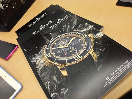 BLANCPAINの雑誌(2)