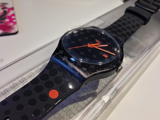 SWATCH SUOZ400 ROLAND-GARROS BLACK SMASH
